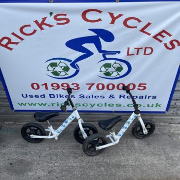 Indi Balance Bike. £6 each.
