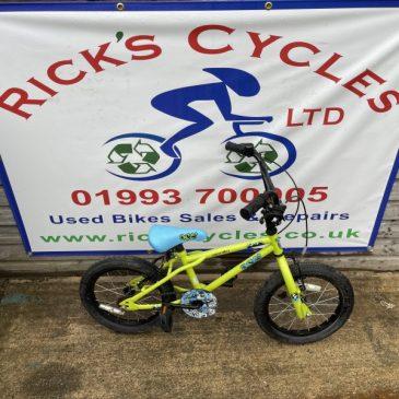 "Apollo Ace 16"" Wheel Boys Bike. £35"