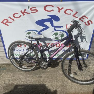 """Shockwave XT580 17"""" Frame Ladies Mountain Bike. £100"""