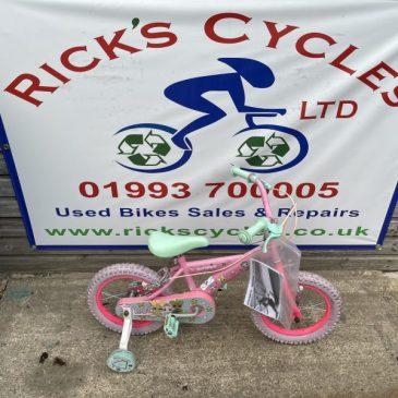 "LOL Glitterati 14"" Wheel Girls Bike. £40"