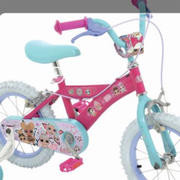 """Brand New LOL We Run The World 14"""" Wheel Girls Bike. £80"""