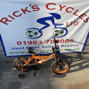 "Huffy Inferno 14"" Wheel Boys Bike. £30"