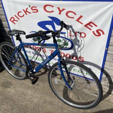 "Apollo Transfer 21"" Frame Hybrid Bike. £120"