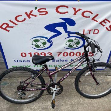 "Falcon Montare 24"" Wheel Girls Mountain Bike. £50"