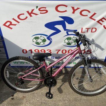 "Apollo Vivid 24"" Wheel Girls Bike. £75"