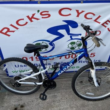 """Apollo Radar 17"""" Frame Mountain Bike. £85"""