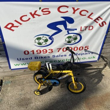 "Apollo Digby 12"" Wheel Boys Bike. £25"