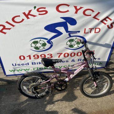 "Magna Dreamweaver 18"" Wheel Girls Bike. £40"