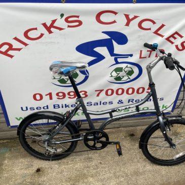 "Plus Mantra 20"" Wheel City Bike. £165"
