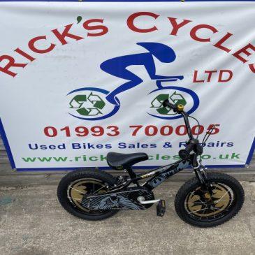 """BatMan 16"""" Wheels Boys Bike. £45"""