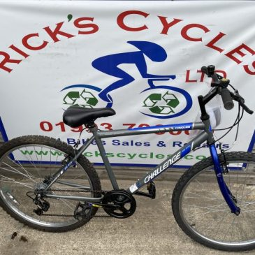 "Challenge Conquer 18"" Frame Mountain Bike. £95"